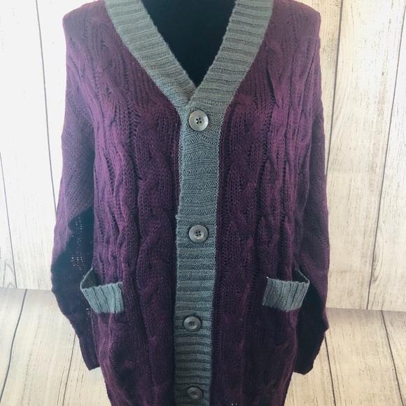 NEW Lucille Cardigan Sweater LuLaRoe Size Medium Button Down Striped